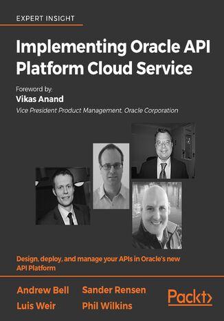 Okładka książki Implementing Oracle API Platform Cloud Service