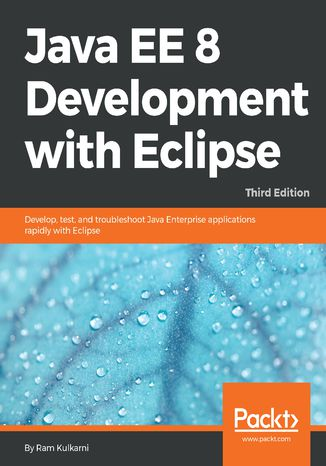 Okładka książki/ebooka Java EE 8 Development with Eclipse