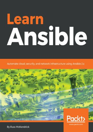 Okładka książki/ebooka Learn Ansible