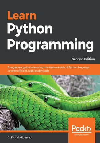 Okładka książki/ebooka Learn Python Programming