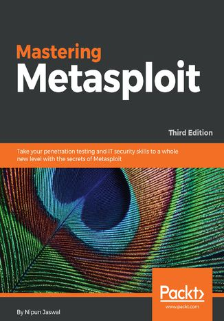 Okładka książki Mastering Metasploit,