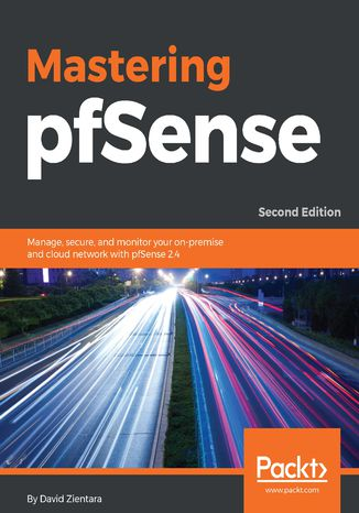 Okładka książki Mastering pfSense,