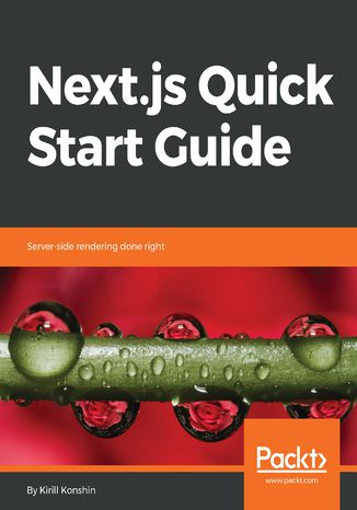 Okładka książki/ebooka Next.js Quick Start Guide
