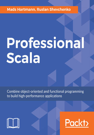 Okładka książki/ebooka Professional Scala
