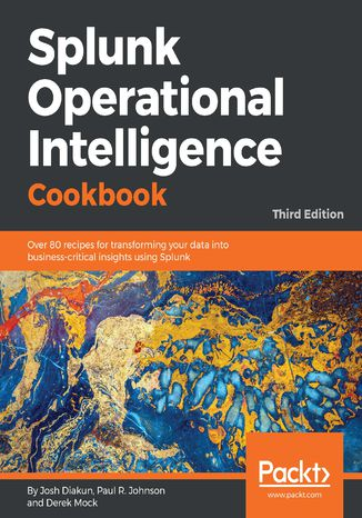 Okładka książki Splunk Operational Intelligence Cookbook