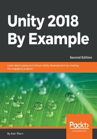 Okładka książki/ebooka Unity 2018 By Example