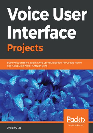 Okładka książki Voice User Interface Projects