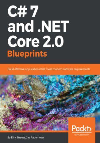 Okładka książki C# 7 and .NET Core 2.0 Blueprints