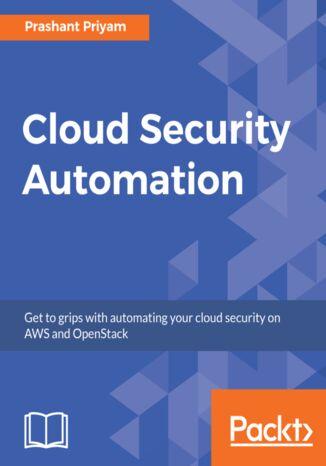 Okładka książki/ebooka Cloud Security Automation