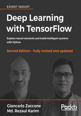 Okładka książki/ebooka Deep Learning with TensorFlow