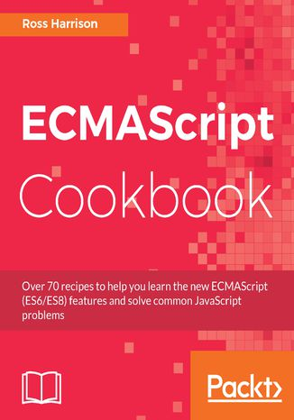 Okładka książki/ebooka ECMAScript Cookbook