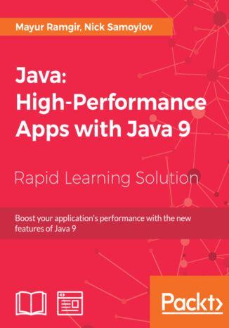 Okładka książki/ebooka Java: High-Performance Apps with Java 9