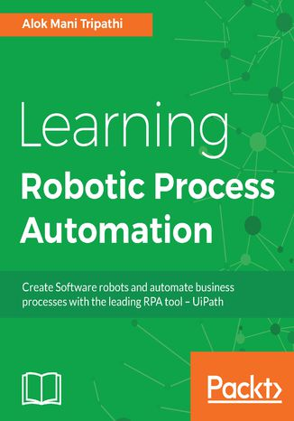 Okładka książki Learning Robotic Process Automation