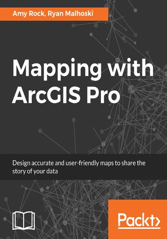 Okładka książki Mapping with ArcGIS Pro