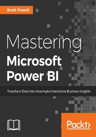 Okładka książki Mastering Microsoft Power BI