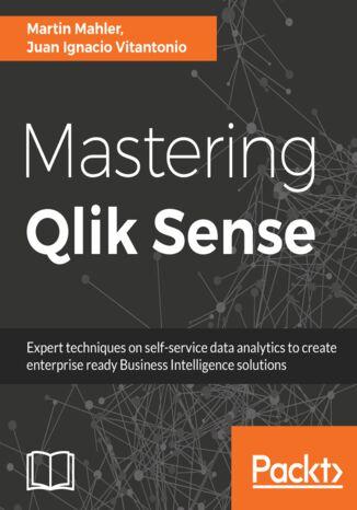 Okładka książki/ebooka Mastering Qlik Sense