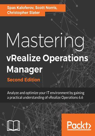 Okładka książki/ebooka Mastering vRealize Operations Manager