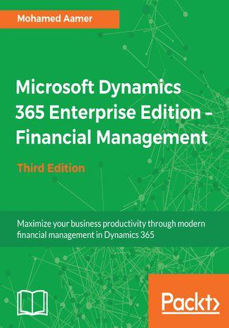 Okładka książki/ebooka Microsoft Dynamics 365 Enterprise Edition  Financial Management