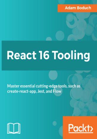 Okładka książki/ebooka React 16 Tooling