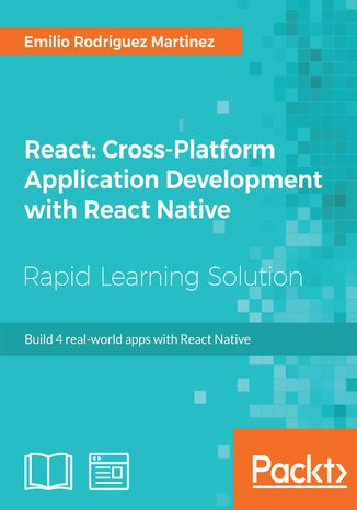 Okładka książki React: Cross-Platform Application Development with React Native