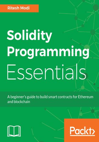 Okładka książki/ebooka Solidity Programming Essentials
