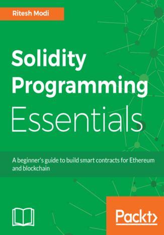 Okładka książki Solidity Programming Essentials