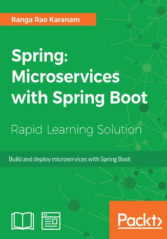Okładka książki/ebooka Spring: Microservices with Spring Boot
