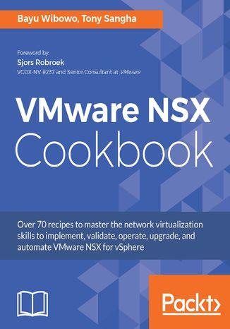Okładka książki/ebooka VMware NSX Cookbook
