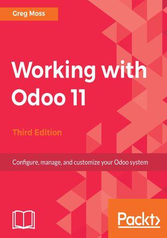 Okładka książki/ebooka Working with Odoo 11