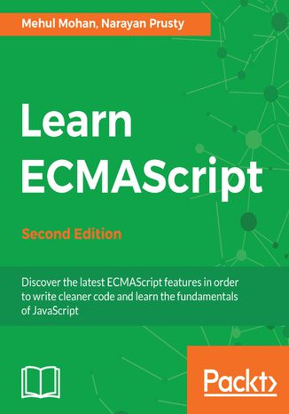 Okładka książki Learn ECMAScript - Second Edition