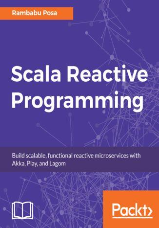 Okładka książki/ebooka Scala Reactive Programming