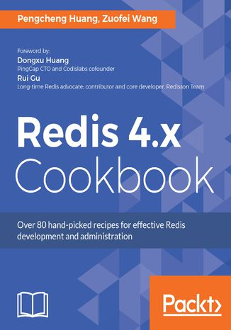 Okładka książki/ebooka Redis 4.x Cookbook