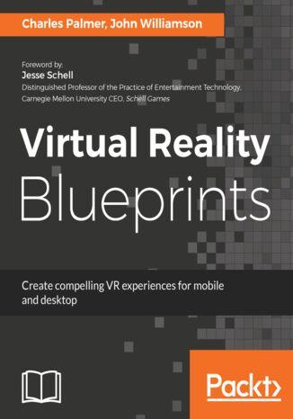 Okładka książki Virtual Reality Blueprints