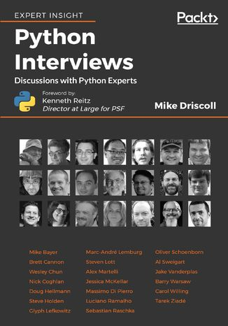 Okładka książki/ebooka Python Interviews