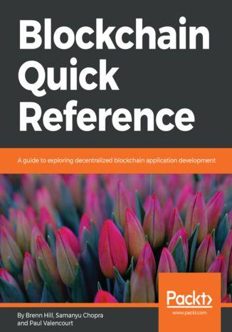 Okładka książki Blockchain Quick Reference
