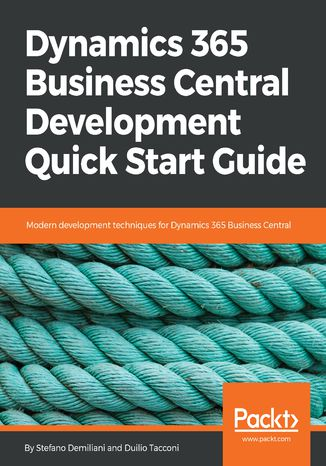 Okładka książki Dynamics 365 Business Central Development Quick Start Guide