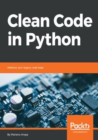 Okładka książki/ebooka Clean Code in Python
