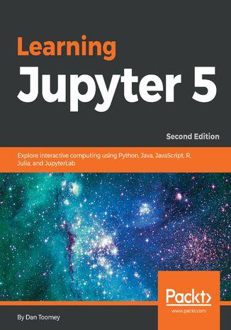 Okładka książki/ebooka Learning Jupyter 5