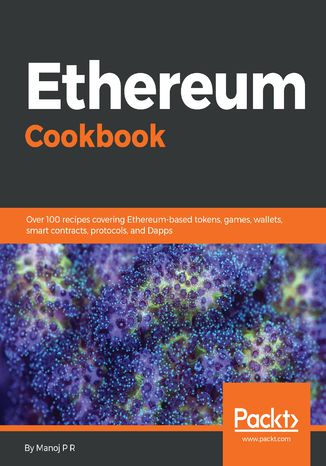 Okładka książki/ebooka Ethereum Cookbook