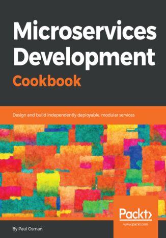 Okładka książki Microservices Development Cookbook