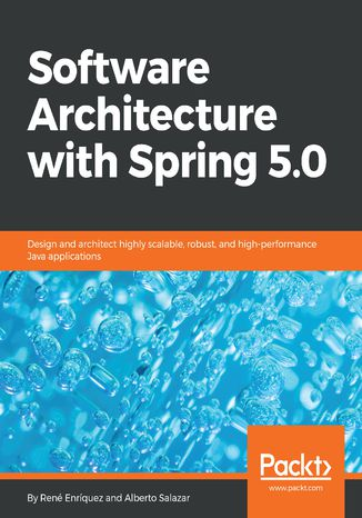 Okładka książki/ebooka Software Architecture with Spring 5.0