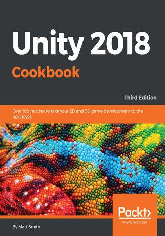 Okładka książki/ebooka Unity 2018 Cookbook