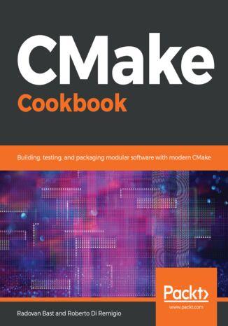 Okładka książki/ebooka CMake Cookbook
