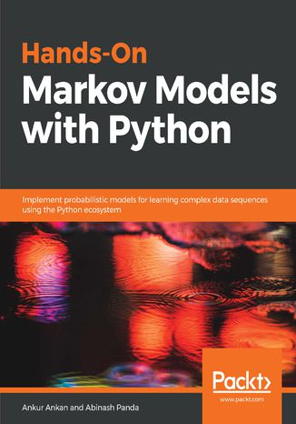 Okładka książki/ebooka Hands-On Markov Models with Python