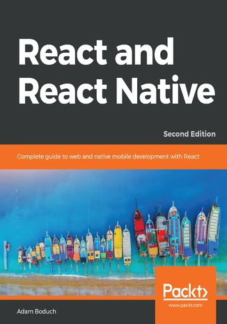 Okładka książki/ebooka React and  React Native. Second edition