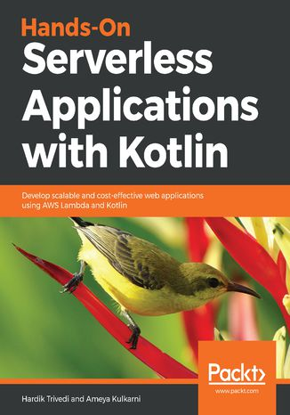 Okładka książki/ebooka Hands-On Serverless Applications with Kotlin