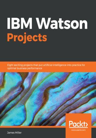 Okładka książki IBM Watson Projects