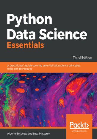 Okładka książki/ebooka Python Data Science Essentials