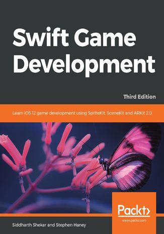 Okładka książki/ebooka Swift Game Development