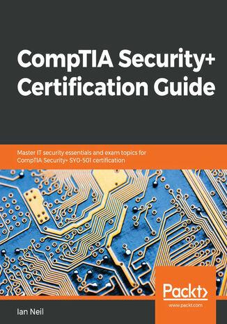 Okładka książki CompTIA Security+ Certification Guide